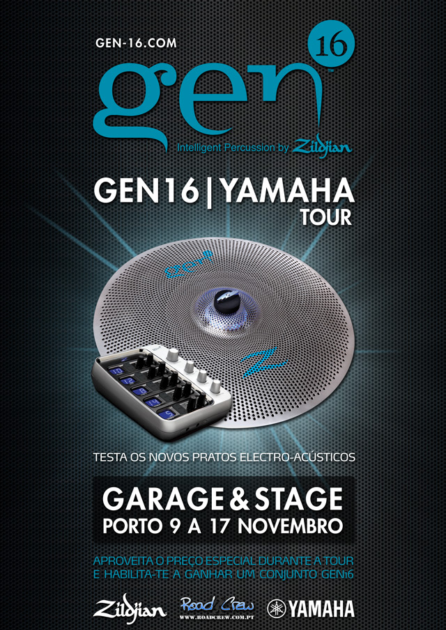 Gen16 | Yamaha Tour na Garage & Stage no Porto