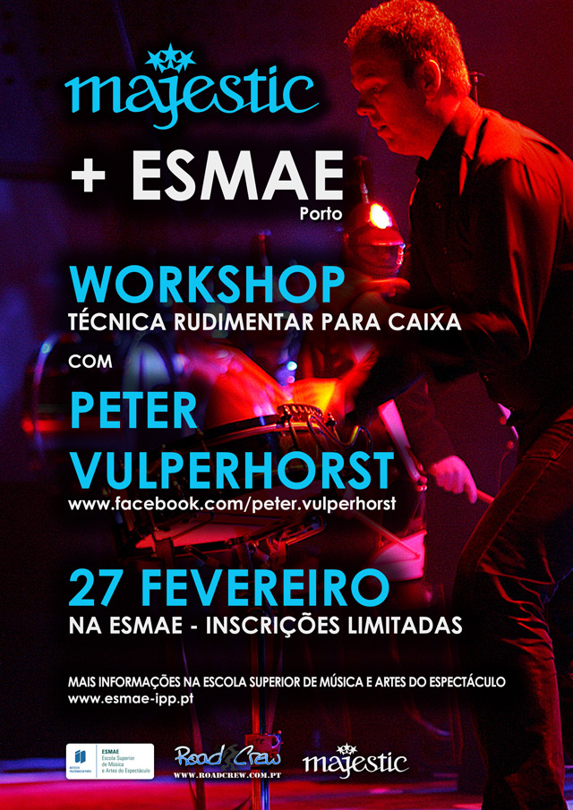 Workshop Majestic com Peter Vulperhorst