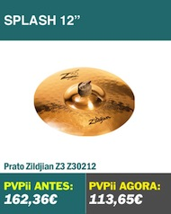 Zildjian Z3 Splash 12""