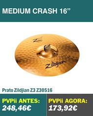 Zildjian Z3 Medium Crash 16""