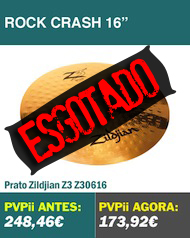 Zildjian Z3 Rock Crash 16""