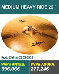 Zildjian Z3 Medium Heavy Ride 22""